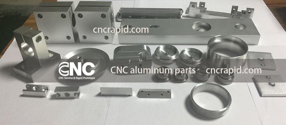 CNC aluminum parts manufacturer, CNC Rapid services