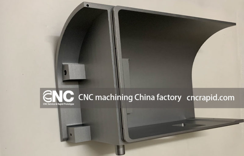 CNC machining China factory