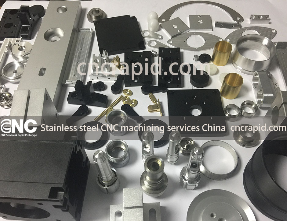 Stainless steel CNC machining services China