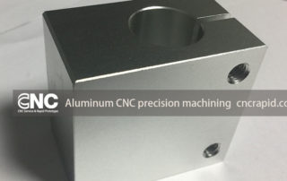 Aluminum CNC precision machining, Rapid prototyping CNC milling turning parts