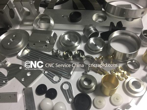 CNC milling service shop, custom precision CNC machined components