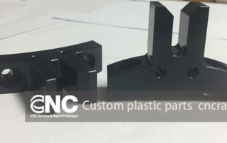Custom plastic parts, CNC milling turning machining shop in China