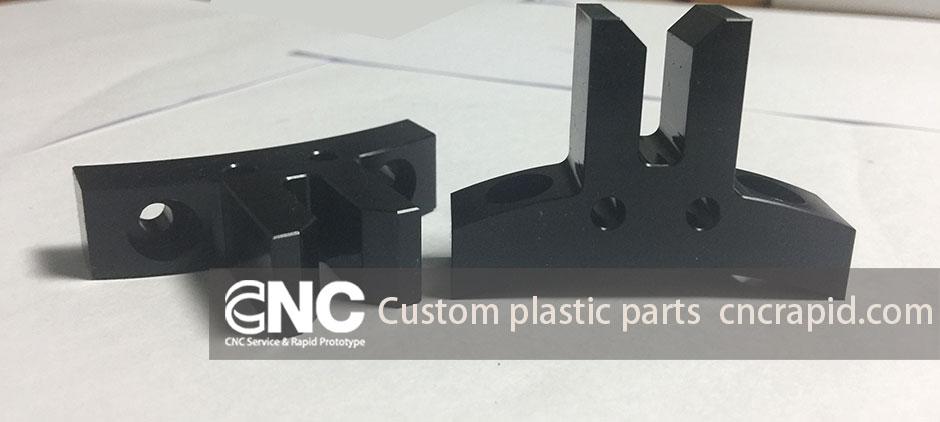 Custom plastic parts, CNC milling turning machining shop in China