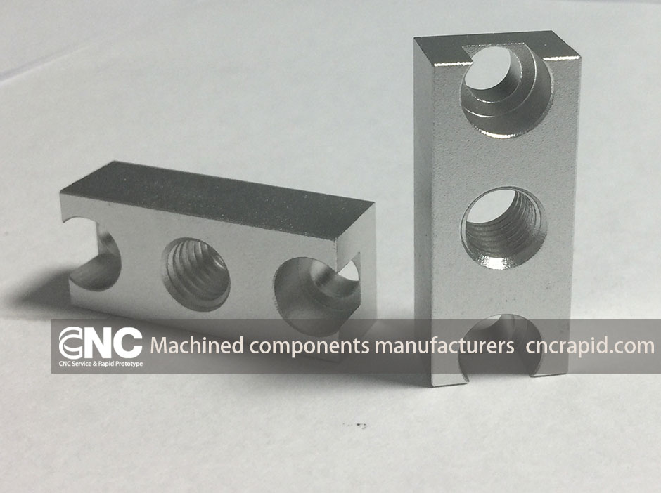 Machined components manufacturers, Sheet metal laser, bending, CNC milling turning aluminum parts