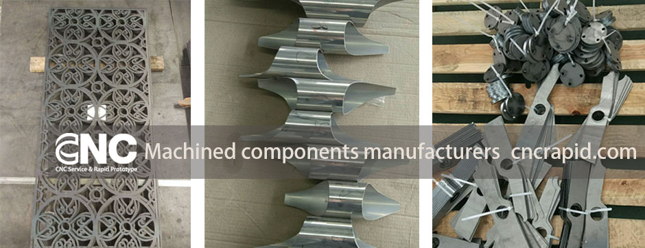 Machined components manufacturers, Sheet metal laser, bending, CNC