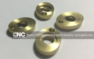 Brass CNC machining parts factory, CNC turning milling parts shop China