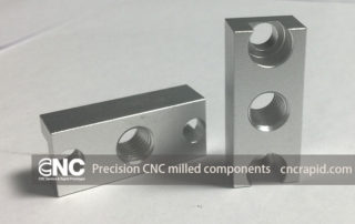 Precision CNC milled components, Custom CNC machining parts China