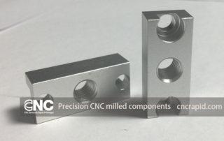 Precision CNC milled components, Custom CNC machining parts China