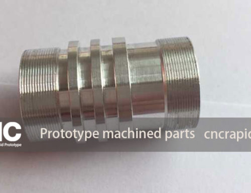 Prototype machined parts