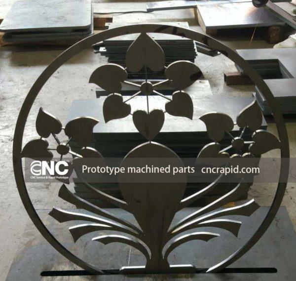 Prototype machined parts, Laser cutting service China