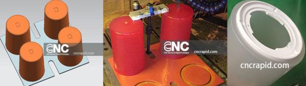 Rapid prototype machining, CNC machined prototypes