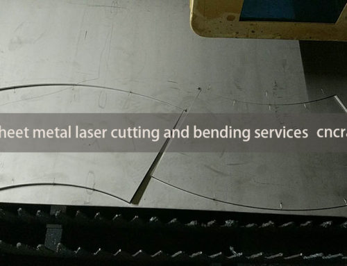 Sheet metal laser cutting and bending services