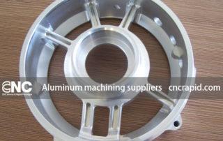 Aluminum machining suppliers, CNC production service - cncrapid.com