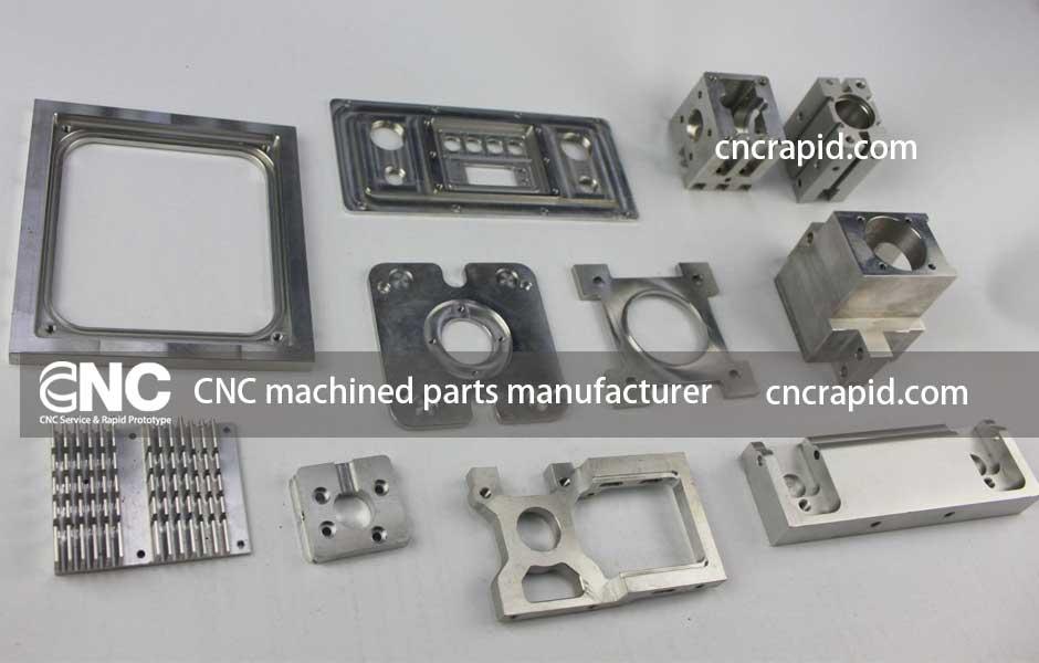 CNC machined parts manufacturer, CNC rapid prototyping services