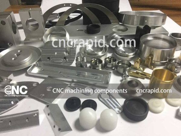 CNC machining components, Custom turned milled parts