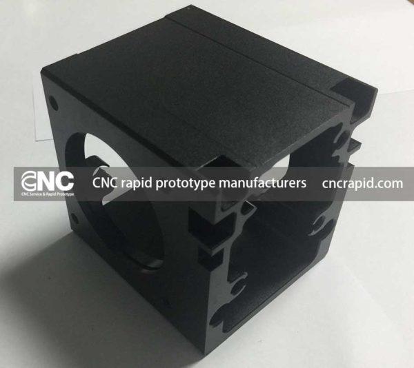 CNC rapid prototype manufacturers