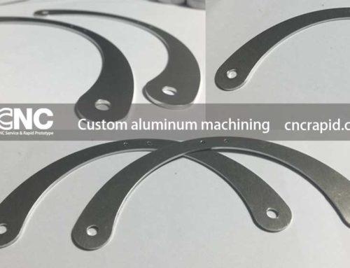 Custom aluminum machining