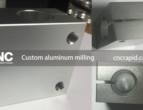 Custom aluminum milling