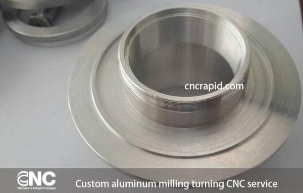 Custom aluminum milling turning CNC service - cncrapid.com