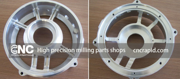 High precision milling parts shops, precision CNC machining services