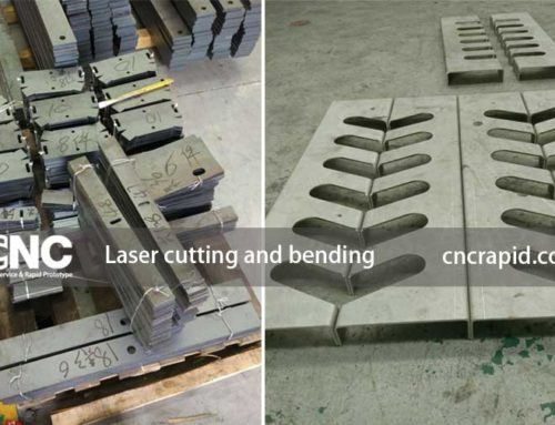 Laser cutting and bending