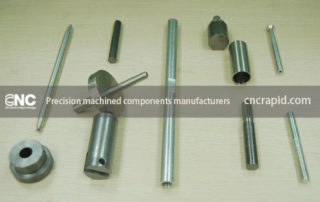 Precision machined components manufacturers, CNC machining services