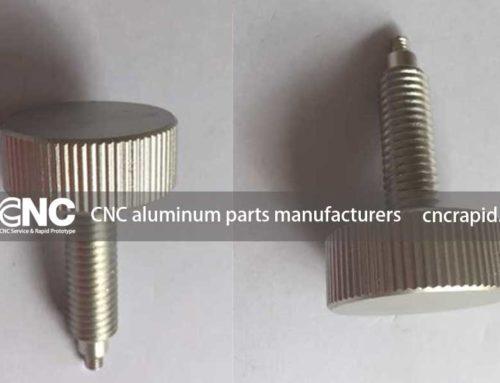CNC aluminum parts manufacturers