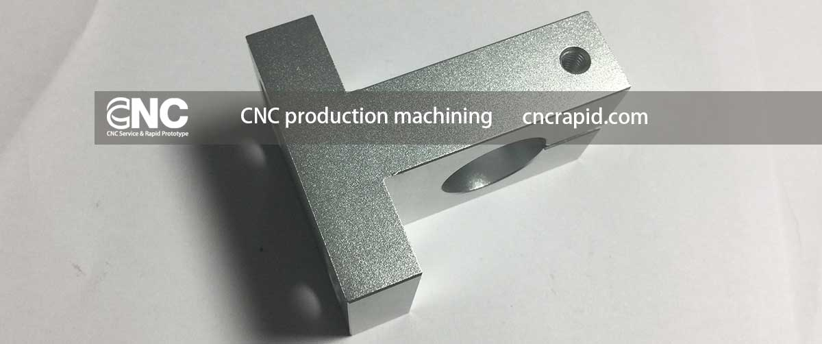 CNC production machining, Custom machining services