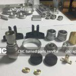 CNC turned parts service, CNC machining services - cncrapid.com