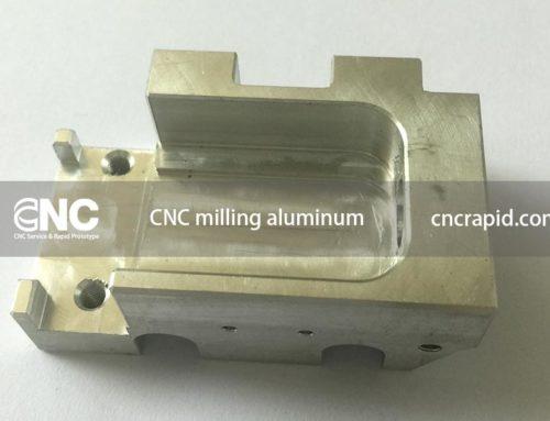 CNC milling aluminum