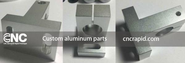Custom aluminum parts, CNC machining services shop - cncrapid.com