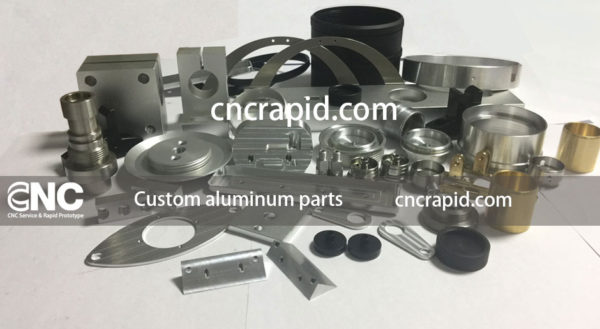Custom aluminum parts, CNC machining services shop - cncrapid.com