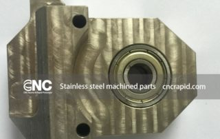 Stainless steel machined parts, CNC machining services - cncrapid.com