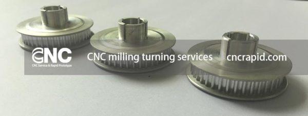 CNC milling aluminum, CNC machining services shop - cncrapid.com