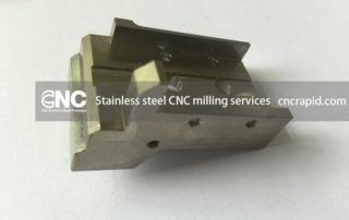 Stainless steel CNC milling services shop - cncrapid.com