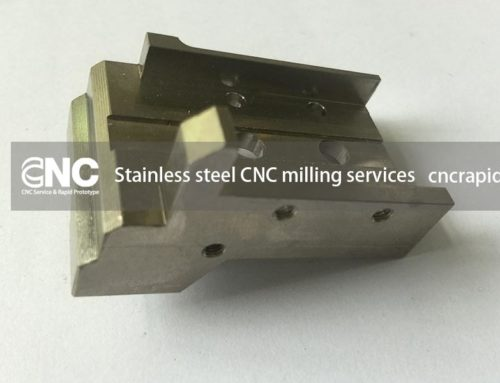 Stainless steel CNC milling services
