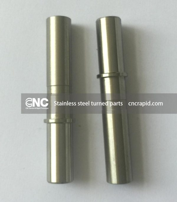 Stainless steel turned parts, CNC machining services - cncrapid.com