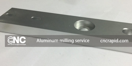 Aluminum milling service, CNC machining services shop China