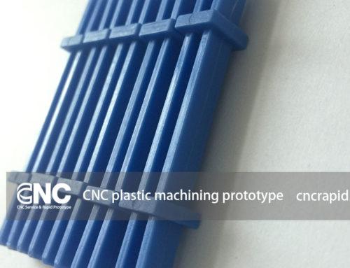 CNC plastic machining prototype