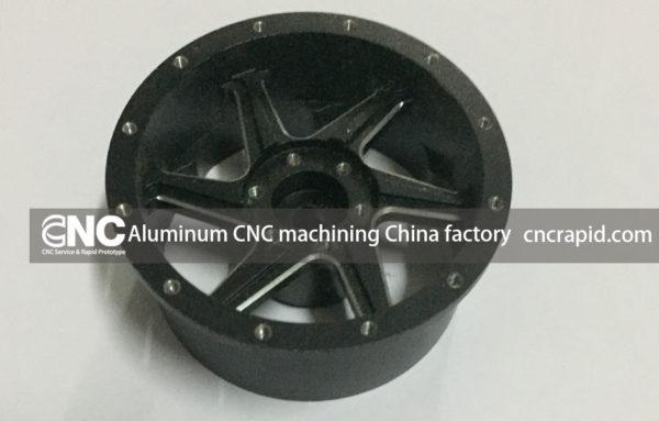 Aluminum CNC machining China factory