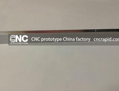 CNC prototype China factory