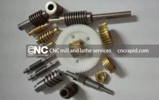 CNC mill and lathe services