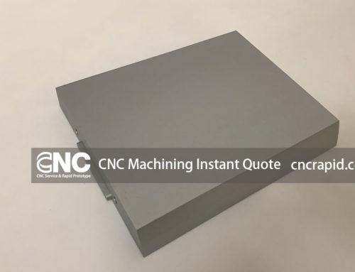 CNC Machining Instant Quote