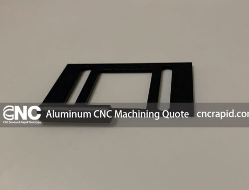 Aluminum CNC Machining Quote